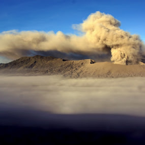 Great Bromo by William  de Jesus Tavares - Landscapes Mountains & Hills