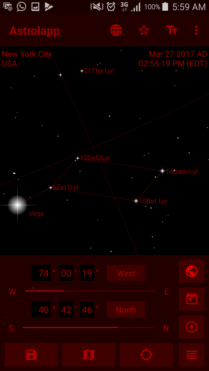 Astrolapp Live Planets and Sky Map Screenshot 6