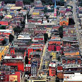 Historic Over-The-Rhine by Dan Justes - City,  Street & Park  Historic Districts