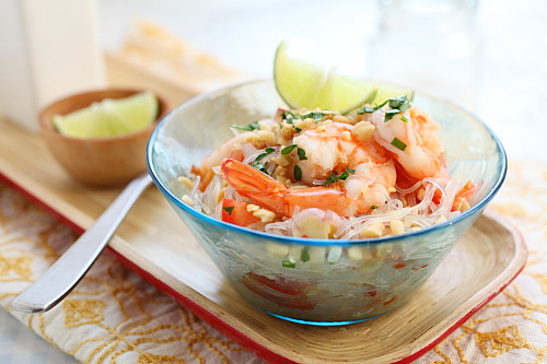 long life fertility noodles with happy shrimp quick shrimp pad thai ...
