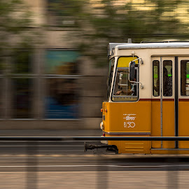 by Carlos Kiroga - Uncategorized All Uncategorized ( panning, urban, street, budapest, transport, urbex, street photography )