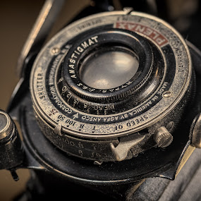 Agfa Ansco by Bill Camarota - Artistic Objects Antiques ( film, vintage, still life, camera, retro, agfa, ansco, antique )