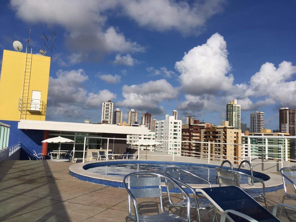 Flat residencial à venda, Cabo Branco, João Pessoa.