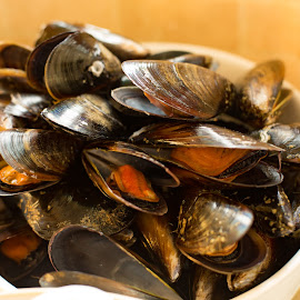 Mussels by Adriaan Oosthuizen - Food & Drink Cooking & Baking ( christmas )