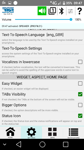 Free Notifications reader of SMS, email, messages screenshot 6