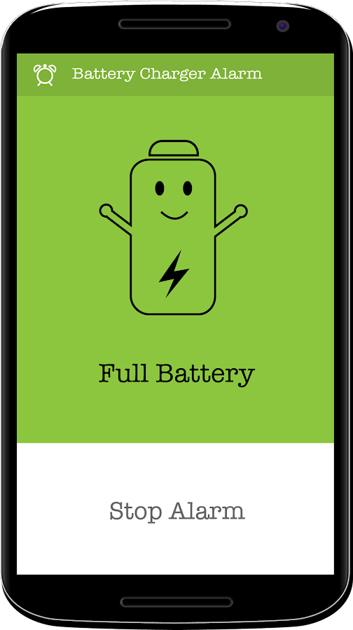 Battery Charger Alarm Screenshot 1