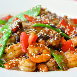 Easy Black Bean Ginger Spicy Shrimp