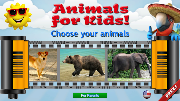 Animals For Kids - Flashcards APK screenshot thumbnail 1