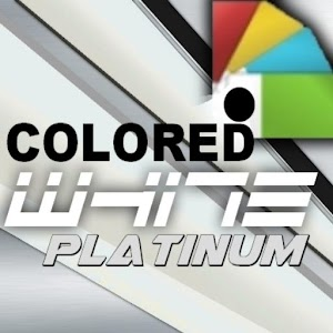 Colored White Platinum Theme