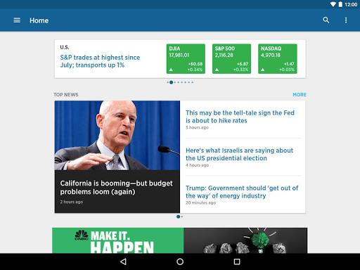 CNBC: Breaking Business News & Live Market Data screenshot 9