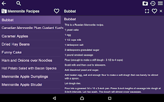 Screenshot of Cooking Recipes Free