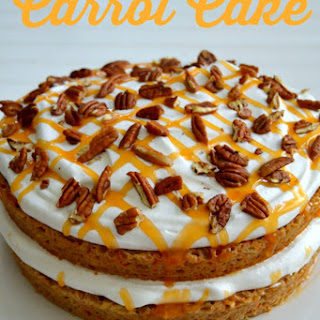 Lightened-Up Carrot Cake