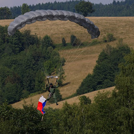 by Pavel Vrba - Transportation Helicopters ( army, parachutist, soldier, military )