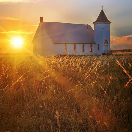 Plains Curch by DE Grabenstein - Buildings & Architecture Places of Worship ( nebraska )