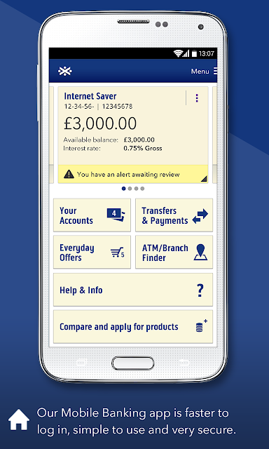 Bank of Scotland Mobile Bank screenshots
