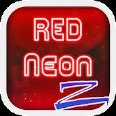 Download Red Neon ZERO Launcher APK to PC