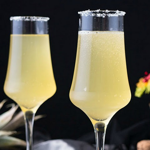 Hot and Bubbly Margarita