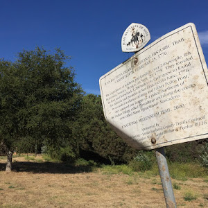 Atascadero Creek. Part of the De Anza National Historic Trail. Submitted by @oranv