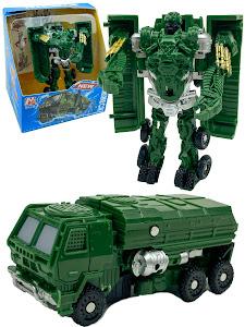 """Робот серии """"Город Игр"""" Трансформер S2 - Машинка грузовик, нефрит"""