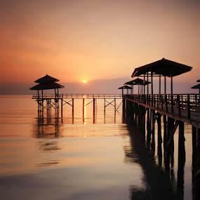 In the morning...  by Endra Martini - Landscapes Waterscapes