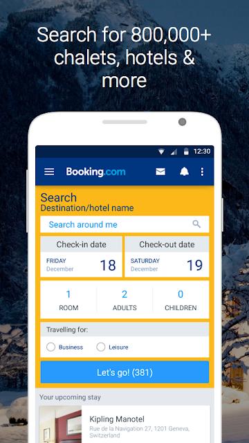 Booking.com Hotel Reservations screenshots