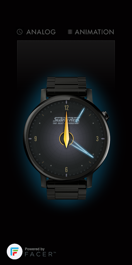 Star Trek official watchface 1 Screenshot 1
