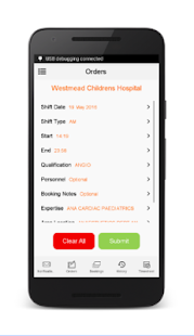 HenderCare Clients - screenshot