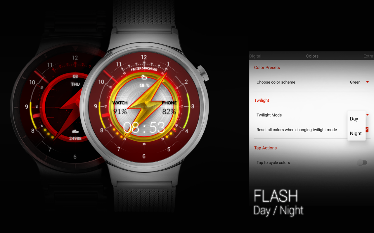 FLASH - Watch Face Screenshot 13