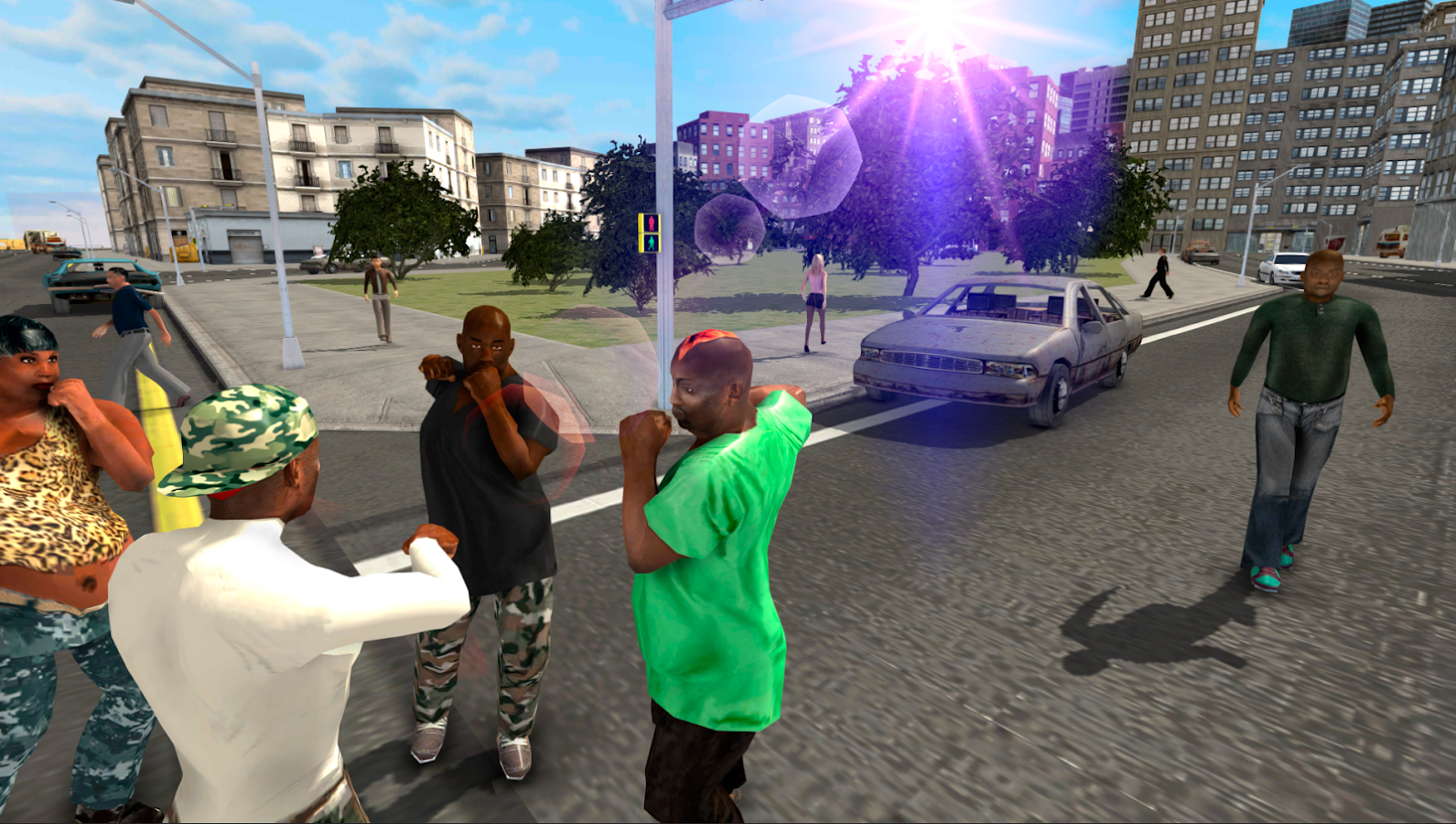 Gangster Crime Wars Screenshot 3