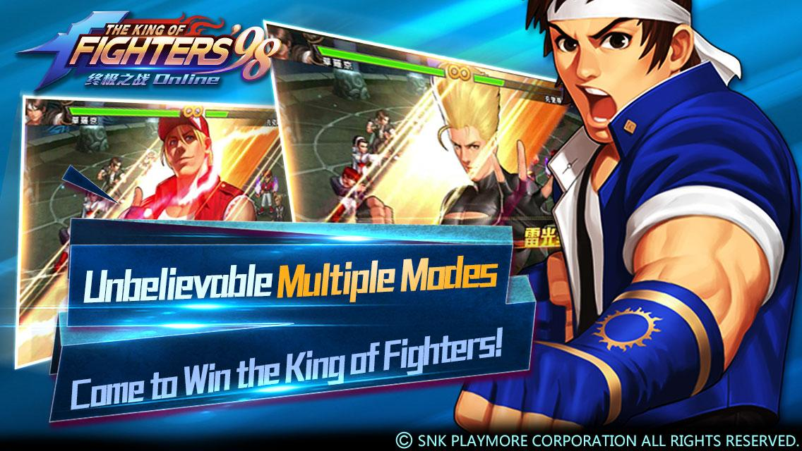 KOF98 ULTIMATE MATCH ONLINE Screenshot 9