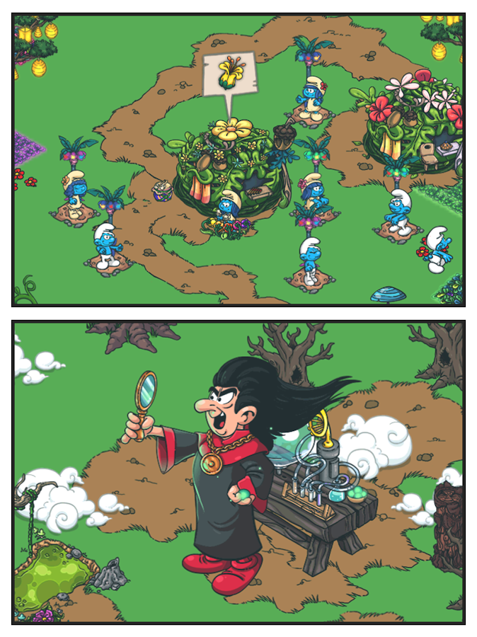 Smurfs' Village Screenshot 9