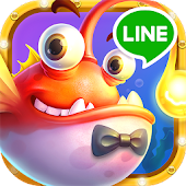 Game LINE 捕魚達人3D APK for Kindle