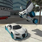 Flying Car Robot Simulator For PC / Windows / MAC