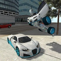 Flying Car Robot Simulator For PC / Windows & Mac
