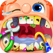 Crazy Children's Dentist Simulation Fun Adventure Icon