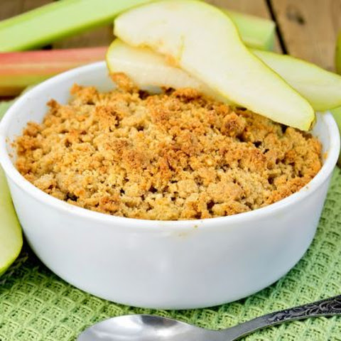 Easy Honey Pear Crisp