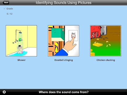 Identify Sounds Using Pictures - screenshot