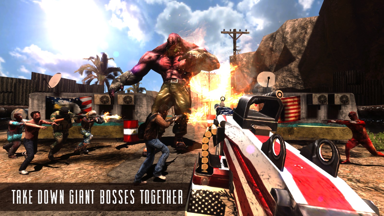 Rage Z: Multiplayer Zombie FPS Screenshot 1
