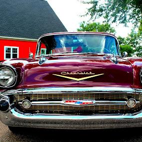 Oldy But Goody by Amanda Saxton-Jenson - Transportation Automobiles (  )