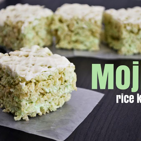Mojito Rice Krispy Treats