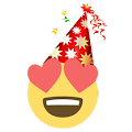Happy New Year Emoji Sticker APK for Bluestacks