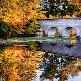 Northborough Viaduct by David Long - City,  Street & Park  City Parks ( northborough, viaduct, massachusetts,  )