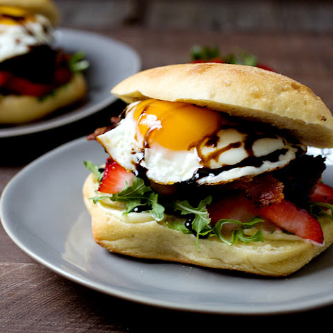 Strawberry Breakfast Sandwiches