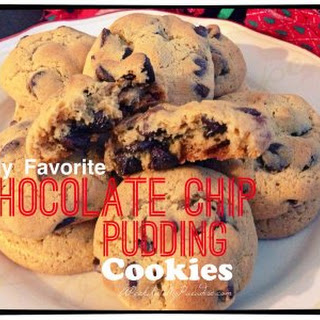 My Favorite Chocolate Chip Pudding Cookies