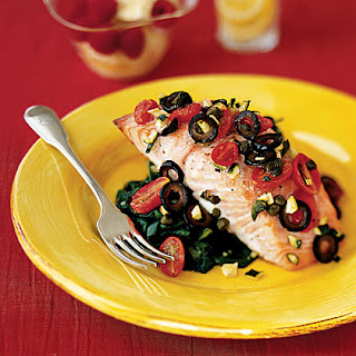 Mediterranean Salmon Capers Recipes