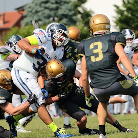 Azione di gioco by Orazio Mariani - Sports & Fitness American and Canadian football ( lions )