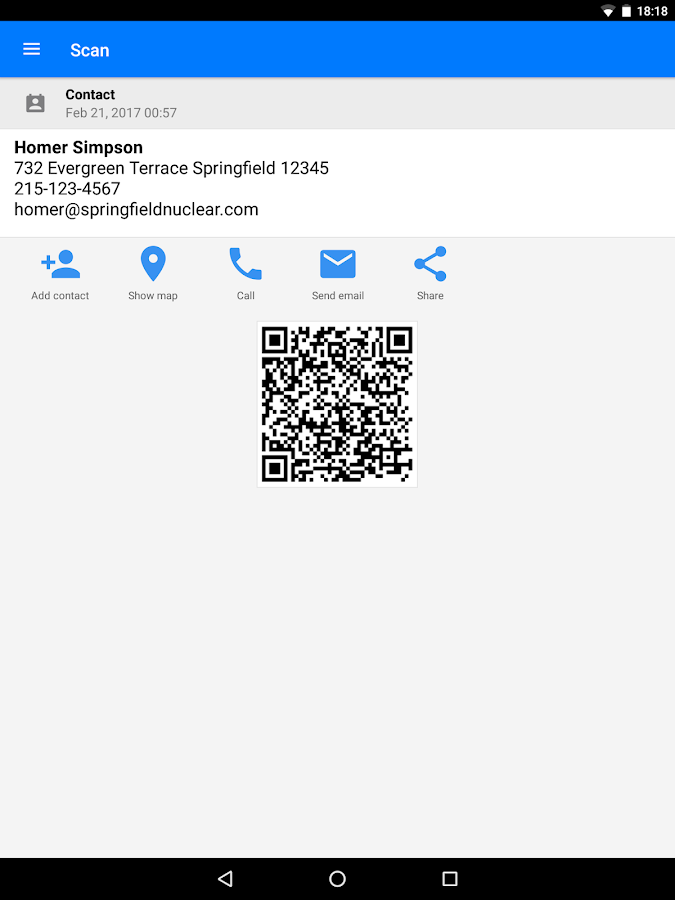 QR & Barcode Scanner PRO Screenshot 9