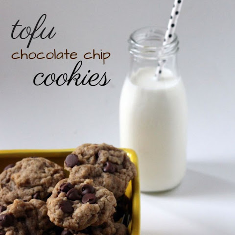 Tofu Chocolate Chip Cookies