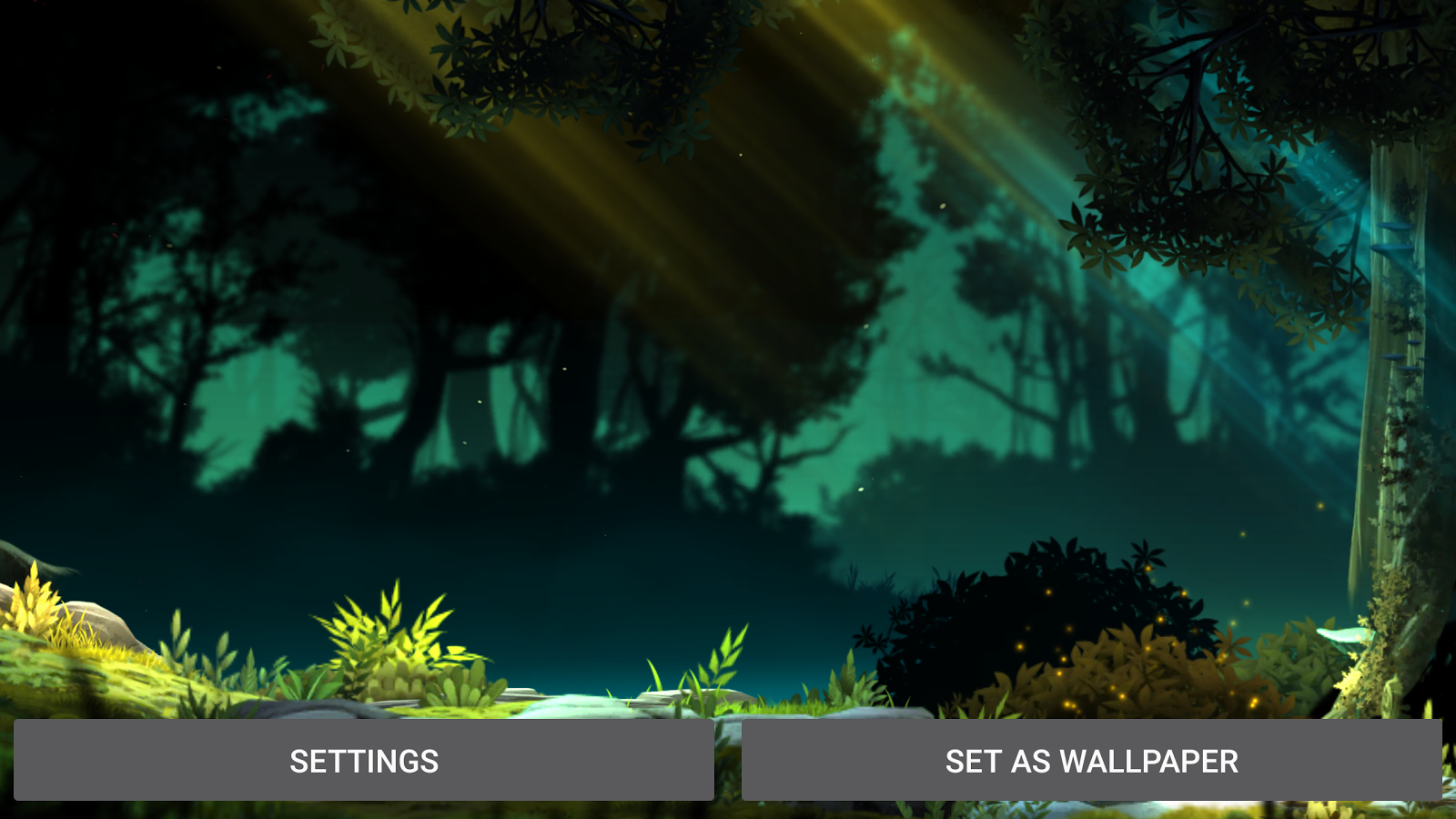 Fantasy Jungle Live Wallpaper Screenshot 13