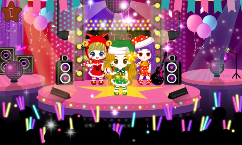 android Fashion Judy: Christmas style2 Screenshot 5
